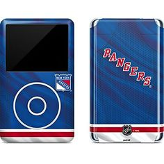 NHL New York Rangers iPod Classic (6th Gen) 80 & 160GB Skin - New York Rangers Home Jersey Vinyl Decal Skin For Your iPod Classic (6th Gen) 80 & 160GB  https://allstarsportsfan.com/product/nhl-new-york-rangers-ipod-classic-6th-gen-80-160gb-skin-new-york-rangers-home-jersey-vinyl-decal-skin-for-your-ipod-classic-6th-gen-80-160gb/  Ultra-Thin, Lightweight iPod Classic (6th Gen) 80 & 160GB Vinyl Decal Protection Offically Licensed New York Rangers Design Industry Lea