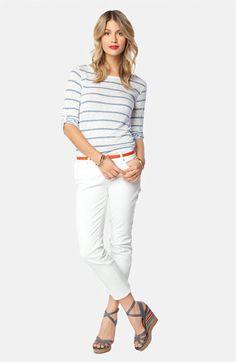 Splendid Shirt & Paige Denim Jeans