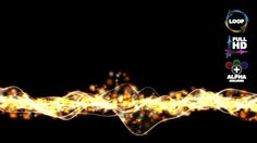 Particle Lower Third - Motion Background 104 (HD)