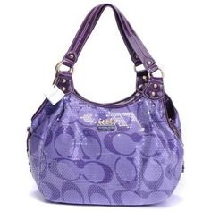Coach New Madison Signature Sequins    OMG I WANT THIS!!!