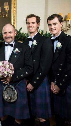 Andy and Jamie at their Dads wedding