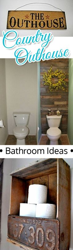 Outhouse Bathroom Decor Ideas