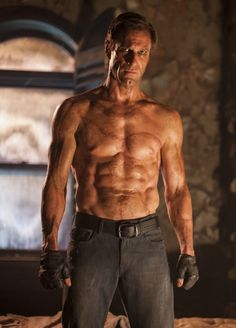 I-Frankenstein, Aaron Eckhart, sweet lord, can Dr. Frankenstein make me another one? Pretty PRETTY please?!!? *droolswoon*