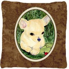 Chihuahua Indoor/Outdoor Throw Pillow