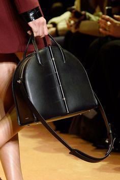 Dainty Deluxe Posh Leather Celebrity Tote Bag Smile Shoulder