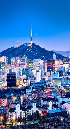 10 Amazing Things To Do In Seoul, South Korea: Namsan Tower | Photo Credit © ixuskmitl/Depositphotos | via Just One Way Ticket | Travel Blog