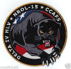 NEW - NRO L- 15 - PANTHER - DELTA IV HLV - CCAFS USAF SATELLITE MISSION  PATCH