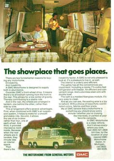 1970's motor home