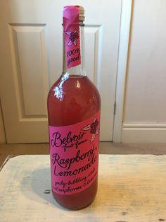 Belvoir Fruit Frams Raspberry Lemonade. Made in the UK.