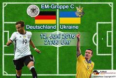 EM Livestream & Liveticker: 1:0 Deutschland - Ukraine ** Fußball heute EM 2016