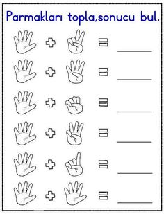 Missing Number Worksheet Pdf easy and printable Preschool Number Worksheets, Kindergarten Addition Worksheets, First Grade Math Worksheets, Numbers Preschool, Preschool Math, In Kindergarten, Math Activities, Math Literacy, Math For Kids