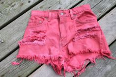 How-To: Make (Cute) High-Waisted Shorts from Goodwill | Her Campus