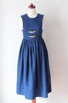 https://www.etsy.com/listing/200192898/vintage-dirndl-dress-1980s-blue-peasant?