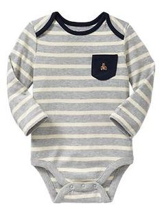 Striped pocket bodysuit | Gap $12.95