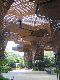 The Construction of a Orchideorama should come up of the relation between architecture and the living organisms. It should not make any distinction between natural and artificial, on the contrary, it should accept them as a unity that allows architecture to be conceived as a material, spatial, environmental organization that is deeply related to the processes of life.