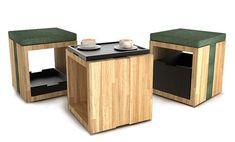 B_kube modular shelving system by 5lab