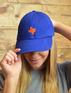 There is just no place like Texas... Show off your State pride in our new Texas hats!