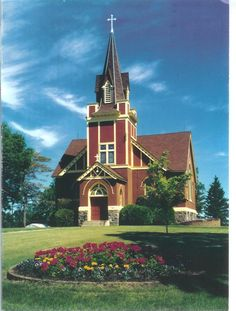Eksjo Lutheran Church in Hawley, Minnesota ...