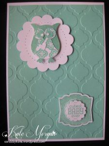 Coastal Cabana - Mosaic Madness - Label Love - Artisan Label Punch - Owl Punch - Stampin' Up! cardsbykate.wordpress.com