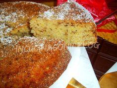 torta di ricotta e scaglie di cioccolato