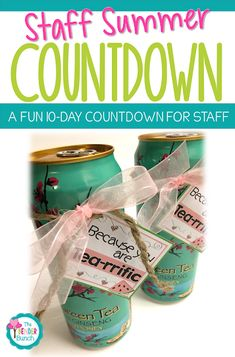 end of year staff gifts, gift ideas, summer break gifts, paraprofessional gifts Staff Gifts, Volunteer Gifts, Student Gifts, Classroom Treats, Classroom Fun, Last Day Of School, Beginning Of School, Teacher Appreciation Gifts, Teacher Gifts