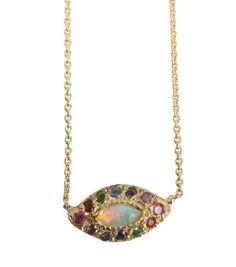 Catbird::shop by category::JEWELRY::Necklaces::Opal Eye Necklace