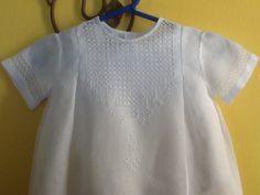 Baptism Outfit, Baby Boy Baptism, Smocking Patterns, Christening Gowns, Heirloom Sewing, Bobbin Lace, Sewing Techniques, Cute Designs, Beautiful Babies