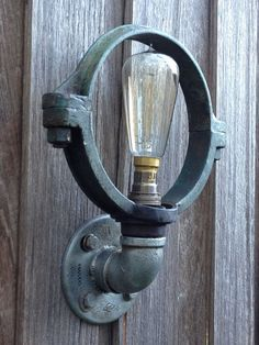 industrial lighting, wall light, industrial home wares