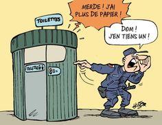 """Plus de papiers """"dans les toilettes"""""""