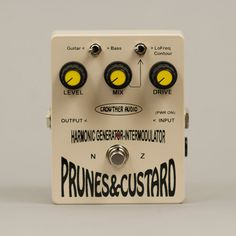Crowther Audio Prunes & Custard