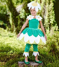 Kids Costumes for Halloween & Dress-up Costume Fleur, Daisy Costume, Alice Costume, Flower Costume, Dress Up Costumes, Girl Costumes, Dance Costumes, Children Costumes, Carnaval Costume