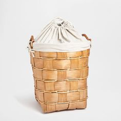 HIGH PLAITED BASKET - Baskets - Bathroom | Zara Home Finland