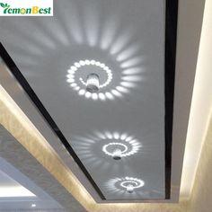 5W Modern LED Ceiling Lights Aluminum Hollow led lights for Home Lighting Cylinder Indoor Living Room Outdoor Lamp AC 110V 220V
