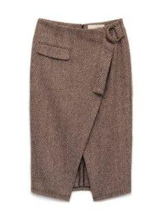 ラップスカート(膝丈スカート) Lily Brown(リリーブラウン) ウサギオンライン公式通販サイト