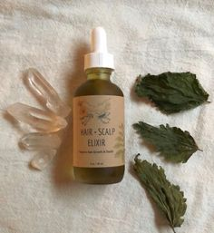 HAIR & SCALP ELIXIR~Promotes hair growth and health. Herbal Infused. 2 oz.