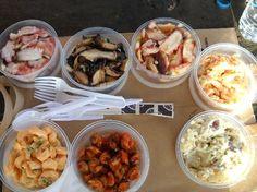 Ishihara Market- Waimea, Kauai!! Best pupus and poke, and prepared, ready to BBQ meats!!