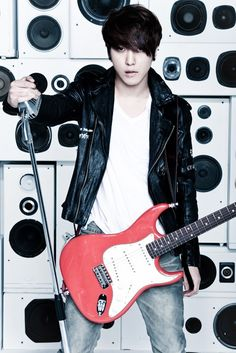 JUNG YONG HWA CN.BLUE Come visit kpopcity.net for the largest discount fashion store in the world!!