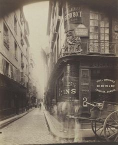 Old Paris from 1900s by Eugène Atget