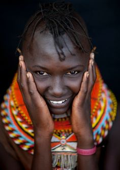 Tribal jewellery in Central and East Africa por Eric Lafforgue