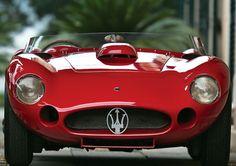 1956 Maserati 450S barchetta Fantuzzi