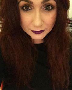 Perchè dormire quando compri un rossetto nuovo? #consiglidimakeup #igdaily #beautyblogger #vicelipstick #urbandecay #sephora #makeup #violetlipstick #lipstick #lips #redhairdontcare #redhair #violet #neverstop