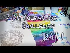 Day 1 - 7 Day Art Journaling Challenge - Jennibellie's Journal Workshops http://journalworkshops.ning.com