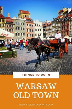 Looking for things to do in Warsaw Old Town? Explore what to see on a 2 day trip to Poland. Warsaw Old Town, Warsaw Poland, Weekend City Breaks, 2 Days Trip, Stuff To Do, Things To Do, Visit Poland, Poland Travel, Explore