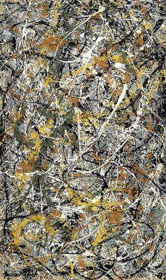 Jackson Pollock - Number 3, 1949