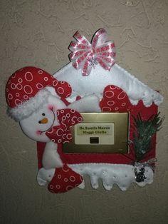 Addobbo natalizio per il campanello