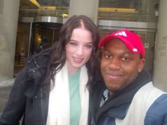 Rachel Nichols meets with a Continuum fan - March 10, 2014 (via @FrankRizzoWerks on Twitter)