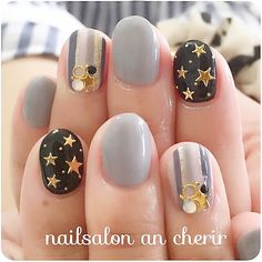 Attention to the semi-permanent varnish - My Nails Crazy Nail Art, Crazy Nails, Love Nails, Latest Nail Designs, Fall Nail Designs, Sky Nails, Nail Time, Trendy Nails, Chic Nails