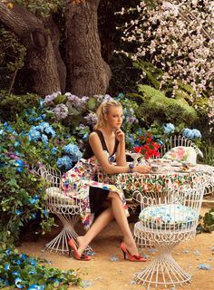 """Fantasy Blooms"" 