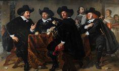Bartholomeus van der Helst (1613-1670), Governors of the Kloveniersdoelen, 1655.