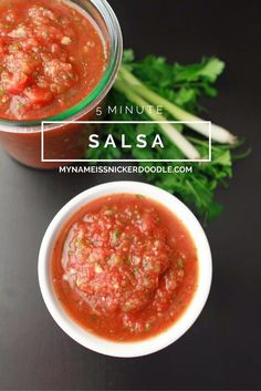5 Minute Salsa recipe!